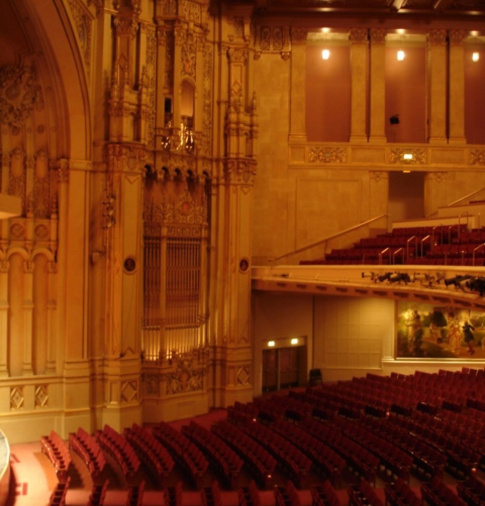 Copley Symphony Hall Stage Upgrade