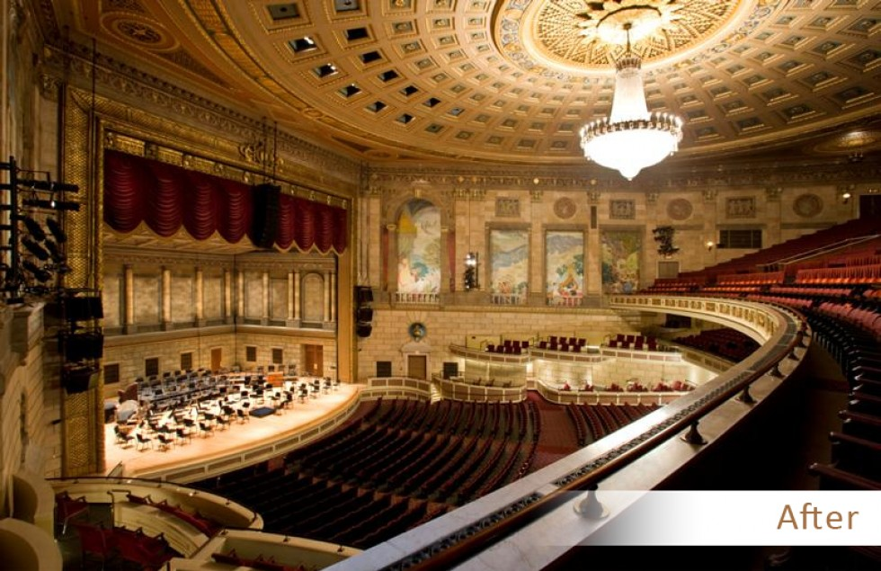 Eastman school of music renovation and addition a ku stiks for Orchestral house music