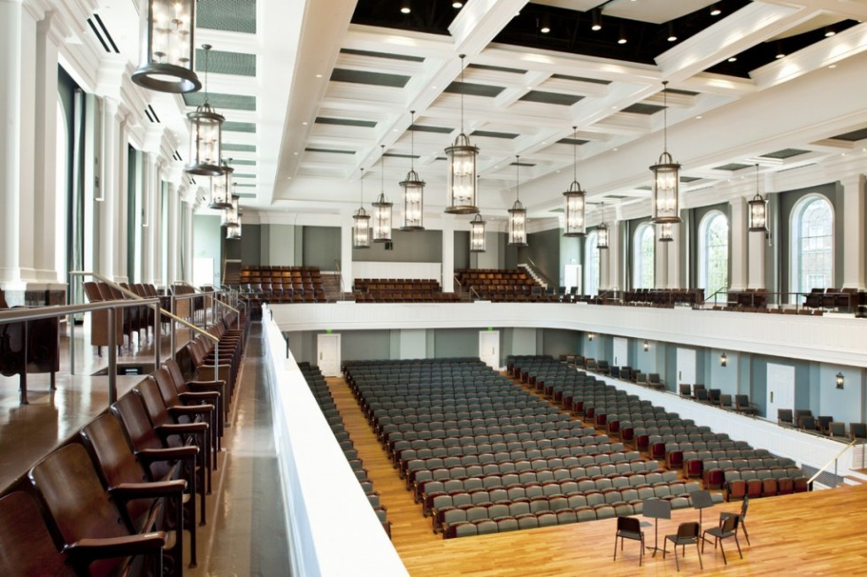 Mcafee concert hall belmont university a ku stiks - Interior design school nashville ...